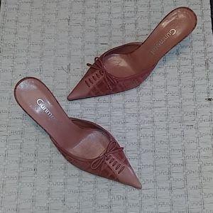 Gunmetal Vero Cuoio Blush Heels 6/36